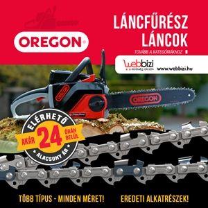 Oregon láncfűrész karbantartó készlet