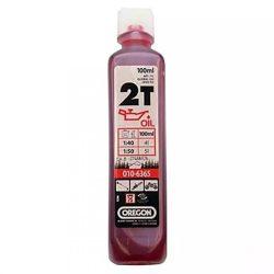Oregon 2T motorolaj -  100 ml - piros * **