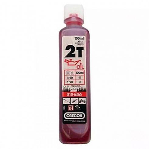 Oregon® 2T motorolaj félszintetikus -  100 ml - piros - 010-6365 - eredeti minőségi alkatrész*