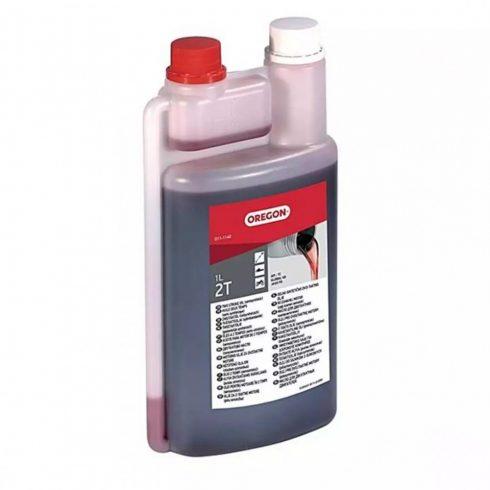 Oregon®  2T részben szintetikus motorolaj -  1 liter - adagolós flakon - piros - 011-1140 - eredeti minőségi olaj*
