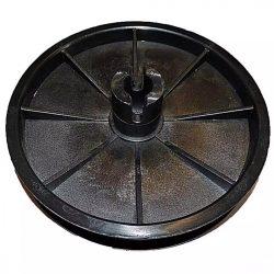 Agrimotor - Altrad betonkeverő műanyag ékszíjtárcsa 190LSA - eredeti minőségi alkatrész * ** ***