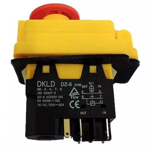 Agrimotor® - Altrad® betonkeverő kapcsoló 190 LSA  - switch - 07016370 - eredeti minőségi alkatrész*