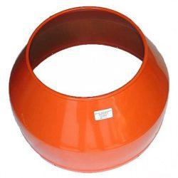 Agrimotor - Altrad betonkeverő dob felső 190LSA - upper drum - eredeti minőségi alkatrész * **