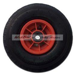 Molnárkocsi kerék műanyag, tűgörgős - 3.00-4 ( 260 x 85 )