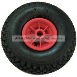 Molnárkocsi kerék műanyag felnis, siklócsapágyas - 3.00 - 4 ( 260 x 85 )