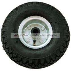 Molnárkocsi kerék fém felnis, tűgörgős - 3.00-4 ( 260 x 85 )