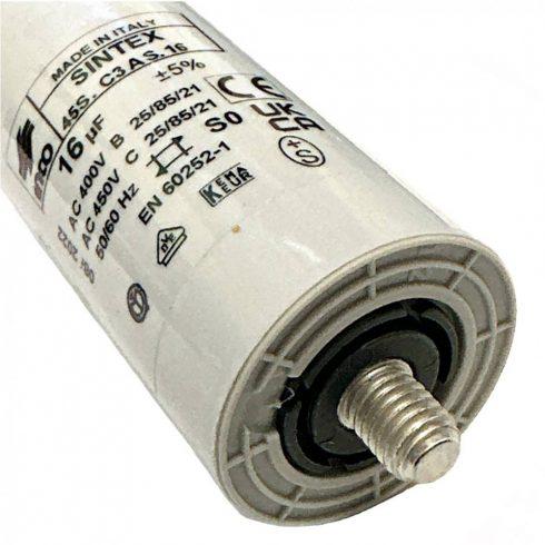 Agrimotor® kondenzátor 16 mf - capacitor 16 mf - eredeti minőségi alkatrész*