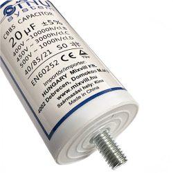 Agrimotor kondenzátor 20 mf - capacitor 20 mf alkatrész * **