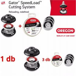 Oregon Gator® Speedload™ damilfej - 24-550 + 3 db 24-518-03 - 3,0 mm damil - eredeti minőségi alkatrész * **