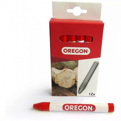 Oregon jelölőkréta piros - 12 db - alkatrész * **