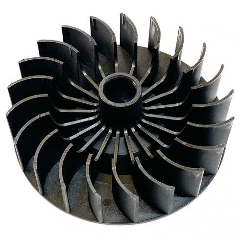 """Agrimotor® 44014627 betonkeverő motor ventilátor """"F"""" - engine impeller """"F"""" - eredeti minőségi alkatrész*"""