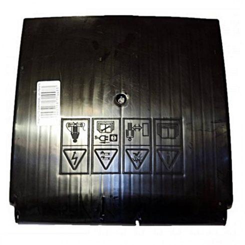 Agrimotor zárófedél - real flap - KK40 - KK42 - fekete alkatrész *