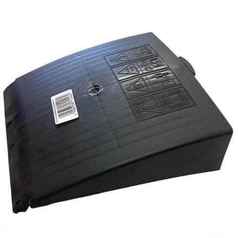 Agrimotor zárófedél - real flap - FM33 - FM38 - KK35 - KK38 - fekete alkatrész *