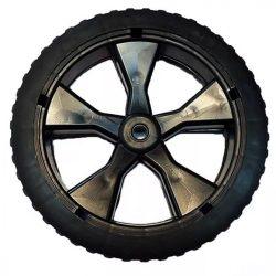 Agrimotor első kerék - wheel front - ( 2012 gyártású - FM 3310 elektromos fűnyíróhoz, dísztárcsa nélkül ) alkatrész * **