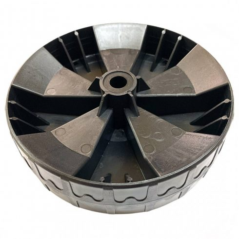 Agrimotor első kerék - wheel front -  KK 35 - KK 38  ( 2012 után gyártott termékekhez ) - elektromos fűnyíró alkatrész *