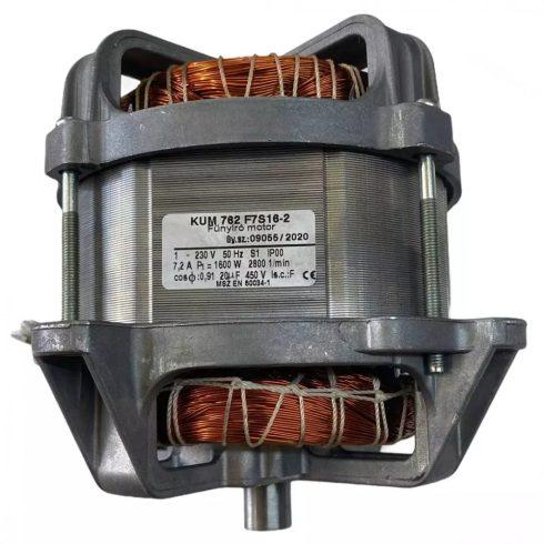 Agrimotor® elektromos fűnyíró motor 1600 W - KUM752F7S16 - Made in Hungary - eredeti minőségi alkatrész * **