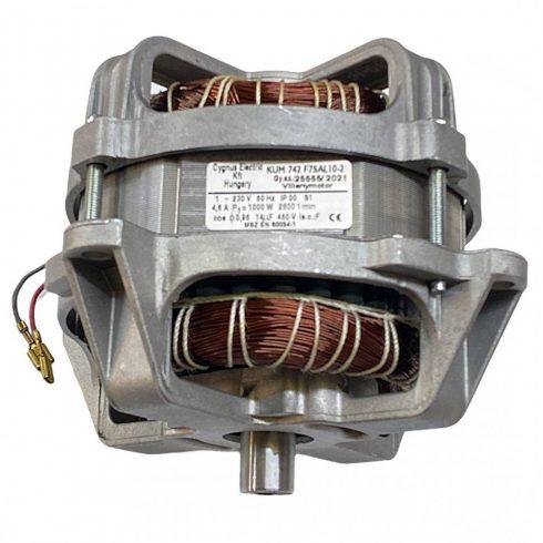 Agrimotor® elektromos fűnyíró motor 1000 W  - KUM742F7SAL10-2 - Made in Hungary -  FM 33 - eredeti minőségi alkatrész *