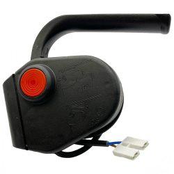 Agrimotor elektromos fűnyíró egyoldali kapcsoló - switch - FM33 - FM38 - KK38 - eredeti minőségi alkatrész * **