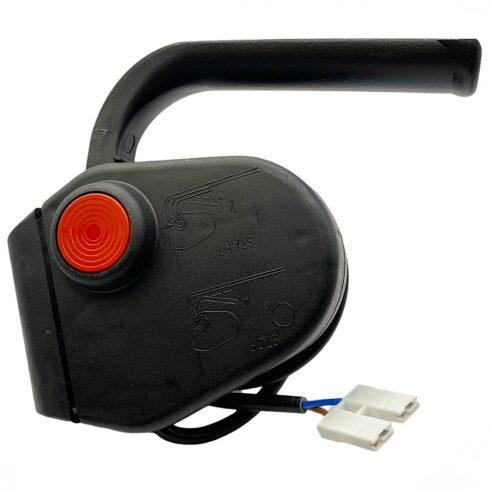 Agrimotor elektromos fűnyíró egyoldali kapcsoló - switch - FM33 - FM38 - KK38 - eredeti minőségi alkatrész *