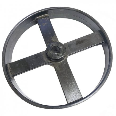 Agrimotor® betonkeverő szíjtárcsa EGYENES LAPOLT ÉKES - eredeti minőségi alkatrész * **