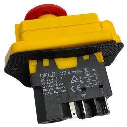 """Agrimotor elektromos betonkeverő kapcsoló - switch """"C - F"""" alkatrész * **"""