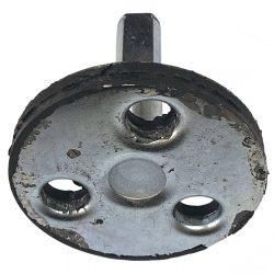 Agrimotor kuplung tengely CM - betonkeverő eredeti minőségi alkatrész * **