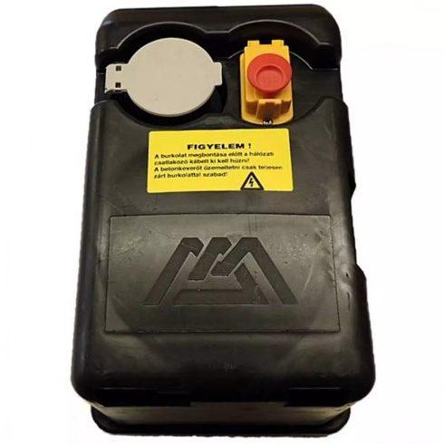 """Agrimotor® betonkeverő hajtásház - 800 W - engine box """"F"""" - 53014654 - Made in Hungary - eredeti minőségi alkatrész*"""