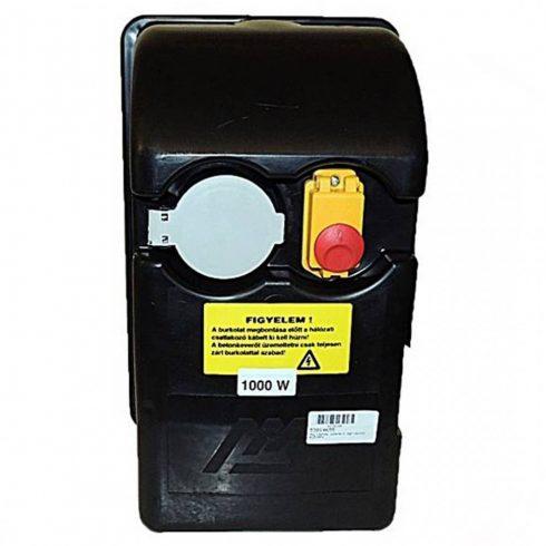 """Agrimotor® betonkeverő hajtásház B1510FK  /1000 W / - engine box """"F"""" - 53014655 - eredeti minőségi alkatrész*"""