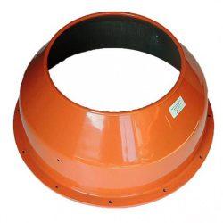 Agrimotor dob felső peremes - drum upper   B 1308 - betonkeverő alkatrész * **
