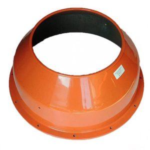 Agrimotor® betonkeverő dob felső  130 L - drum upper -  B 130 - 53022476 - eredeti minőségi alkatrész*