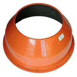Agrimotor dob felső - drum upper  B 1510 betonkeverő alkatrész * **