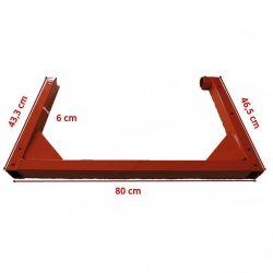 Agrimotor váz - frame   B 1308 -  betonkeverő alkatrész* **