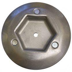 Agrimotor kuplung alsó - Aratrum51 / Rotalux5 - rotációs kapálógép alkatrész * **