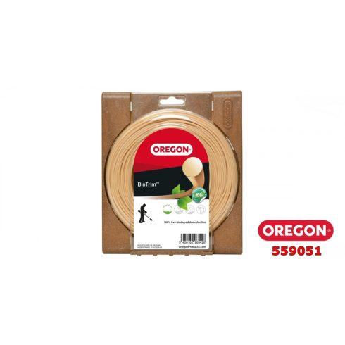 Oregon® 559051 fűkasza damil ∅ 2.4 mm BIOTRIM™ kör profil - 87 fm - eredeti minőségi alkatrész*