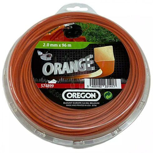 Oregon® 574899 fűkasza damil ∅ 2.0 mm négyszög profil - 96 m - eredeti minőségi alkatrész*