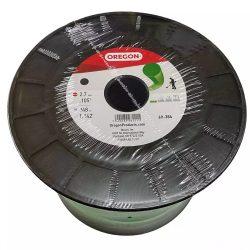Oregon fűkasza damil 2.7 mm kerek profil - zöld - 69-384 - Made in USA - eredeti minőségi alkatrész * **