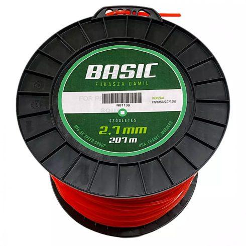 BASIC® fűkasza damil ∅ 2.7 mm négyszög profil - 207 fm - FIN/BASIC/2.7/1.36S - eredeti minőségi alkatrész*