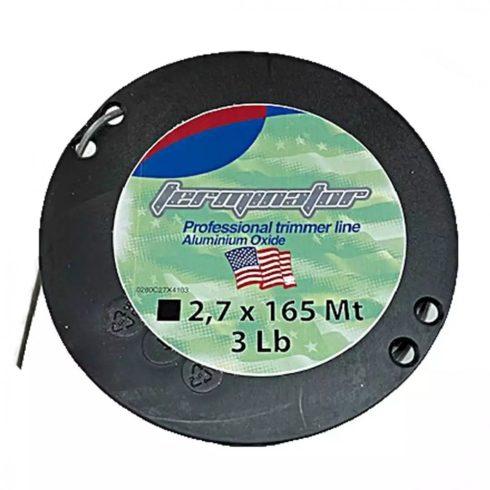 Terminator® fűkasza damil ∅ 2.7 mm ALUMINIUM négyszög profil - 165 méter - FIN/T/2.7/1.36A - eredeti minőségi alkatrész*
