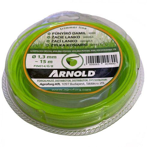 Arnold fűkasza damil ∅ 1.3 mm kör profil - 15 m - eredeti alkatrész*