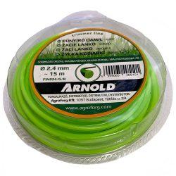Arnold fűkasza damil 2.4 mm kerek profil - 15 m - eredeti alkatrész * ** ***