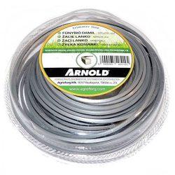 Arnold fűkasza damil 2.7 mm szögletes  profil - ALU - 15 m - eredeti alkatrész * ** ***