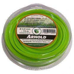 Arnold fűkasza damil 3.0 mm szögletes profil - 15 m - eredeti alkatrész * ** ***