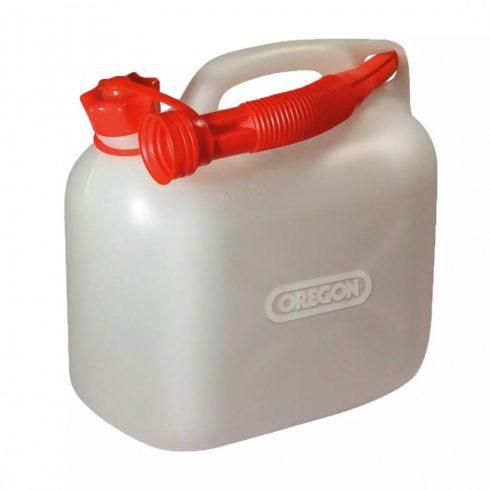 Oregon® üzemanyag kanna 5 liter - fehér -O42-972- eredeti minőségi alkatrész*