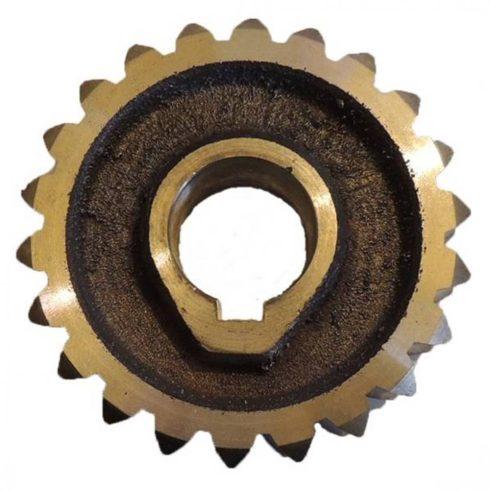 Szevafém® RK02-1-28 bronzkerék-csigakerék Z-22 / 22 fogas/ - eredeti minőségi alkatrész*