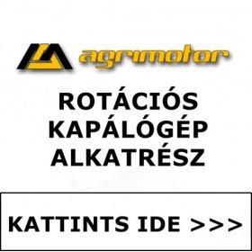 Agrimotor rotációs kapálógép alkatrész