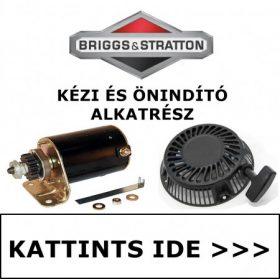 BRIGGS & STRATTON KÉZI ÉS ÖNINDÍTÓ ALKATRÉSZEK
