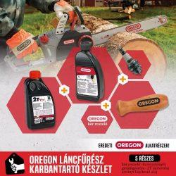 Oregon eredeti minőségi láncfűrész karbantartó készlet - 5 darabos * ** ***