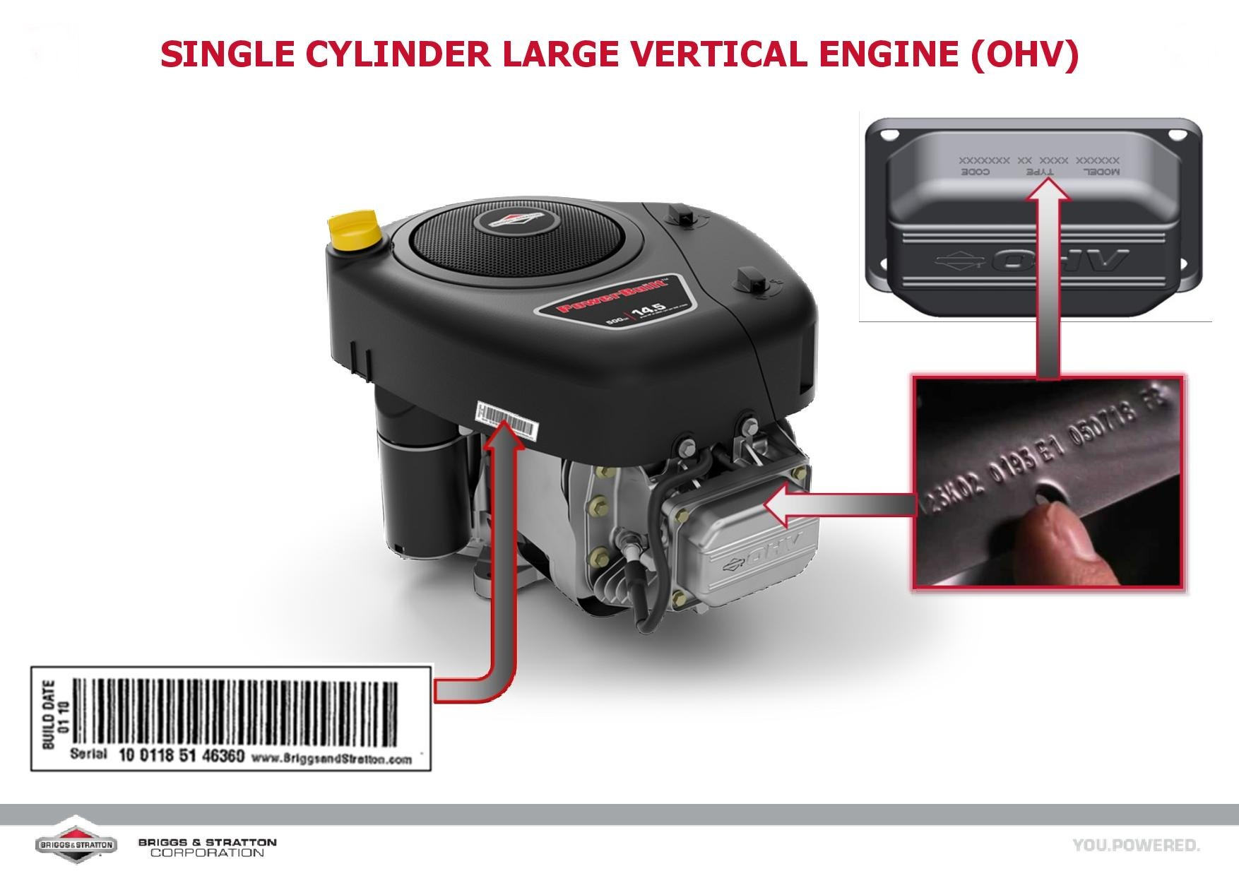 Briggs & Stratton® motor