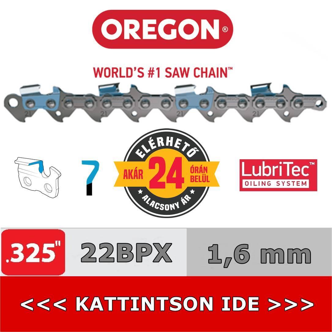"""Oregon 325"""" - 1,6 mm - 22BPX láncfűrész lánc"""