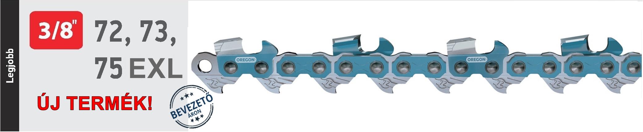 Oregon® PowerCut™ láncfűrész lánc 75EXL